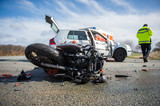 Motorradunfall - Kollision mit PKW