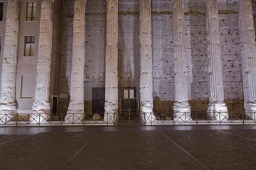 Temple of Hadrian, Il Tempio di Adriano
