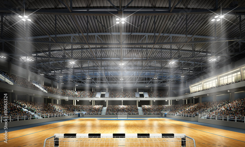 Papiers peints Stade de football Multifunktionshalle Handball 2