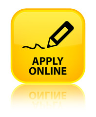 Apply online (edit pen icon) yellow square button