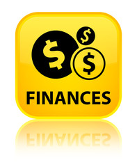 Finances (dollar sign) yellow square button