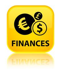 Finances (euro sign) yellow square button