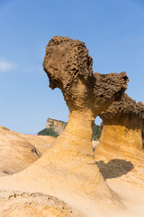 Rocks in Yehliu Geopark