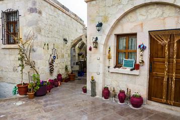 Old hotel in Mustafa Pasha, Cappadocia, Turkey