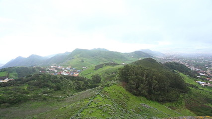 Village in Tenerife view, Canary Islands, Spain