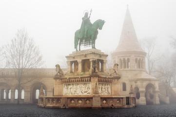 Statue of Stephen I. Budapest Hungary