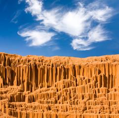 Sundy desert landscape
