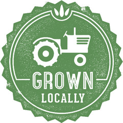 Grown Local Stamp