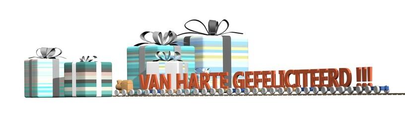 Speelgoed en cadeaus - gefeliciteerd