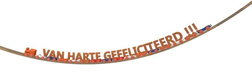 Feest in Nederland - van harte gefeliciteerd
