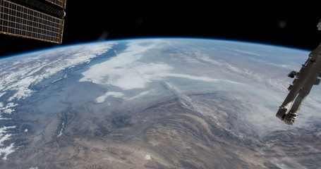 Our home planet Earth seen from the ISS