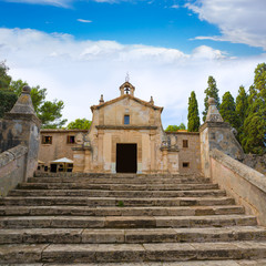 Majorca esglesia del Calvari church Pollenca Pollensa