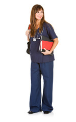 Student: Med Student Ready For Class