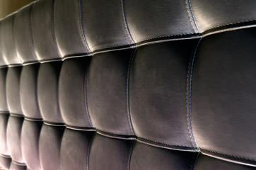 Tufted Leather Headboard Texture for Background