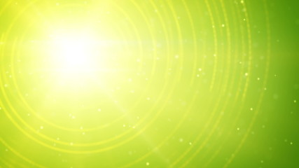 abstract green shine background loop