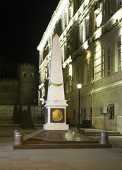 Monument  to  proclamation of the Republic of Azerbaijan