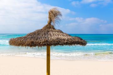Majorca Es Trenc ses Arenes beach in Balearic