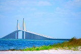 Sunshine Skyway Bridge Tampa Bay poster
