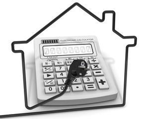 Расчёт затрат на электричество. Концепция