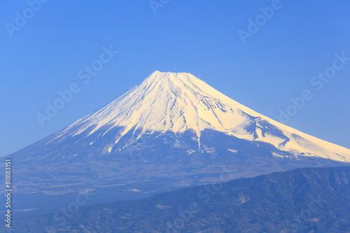 Mt. Fuji seen from Nishiizu, Shizuoka, Japan