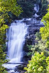 Sirithan waterfall in Doi Inthanon, Chiang Mai, Thailand