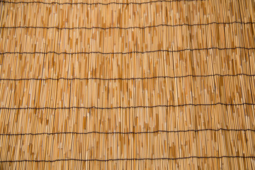 Asian crafts of knitting bamboo