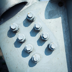 Steel rivets