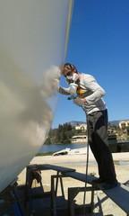 Spray Painter at Work