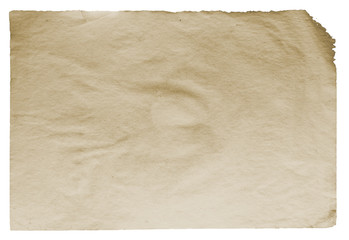 old paper isolated