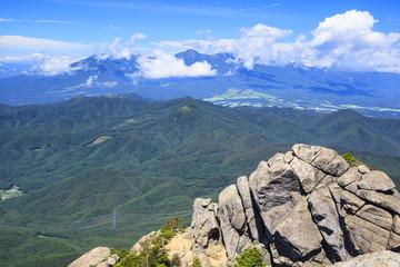 View from Mount Mizugaki, Yamanashi, Japan