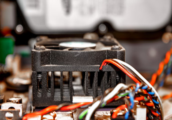 Part of motherboard