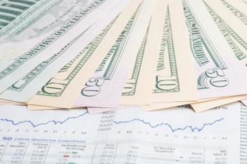 Geld anlegen in Aktien