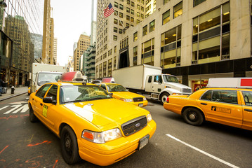 Taxis à New York