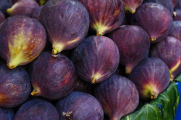 Ripe figs at street market