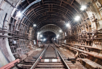 Kiev, Subway tunnel