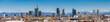 Leinwanddruck Bild - Milan Italy - panoramic view of new skyline