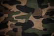 Leinwanddruck Bild - Texture of a camouflage