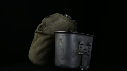 US soldier canteen