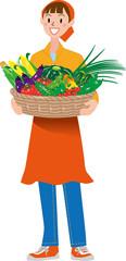 収穫 夏野菜