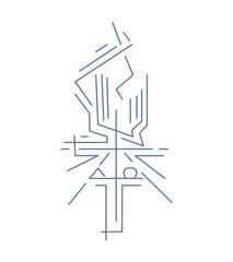 Alpha and Omega Cross b