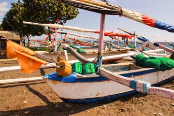 rocker catamarans, Lombok, Indonesia