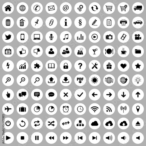 Web Icons - 80902985