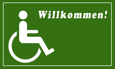 Willkommen RollstuhlfarerIn