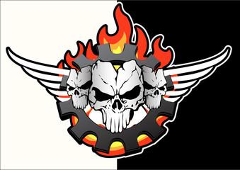skulls trio motor -1