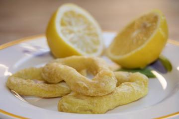 rings fried calamari