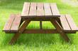 table-banc de jardin et de pique-nique bois