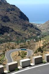 Straße auf La Gomera