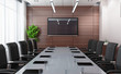 Modern conference room - 80911186