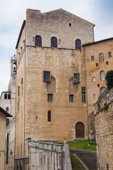 Palazzo medievale a Gubbio