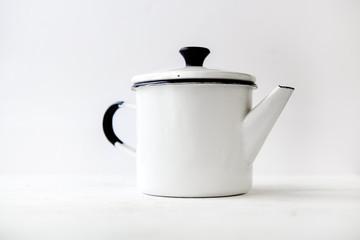 retro home enamelware coffee pots